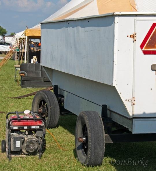 Amish Refrigerated Food Wagon