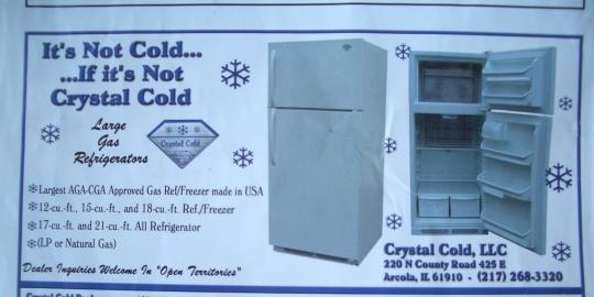 amish refrigerator
