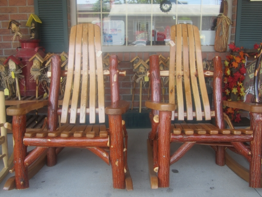 Amish Rustic Rockers