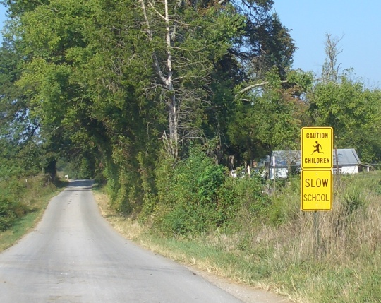 amish school sign kentucky