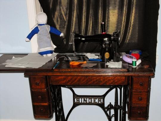 Amish Sewing Machine