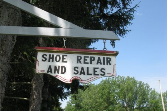 Amish Shoe Repair Sales
