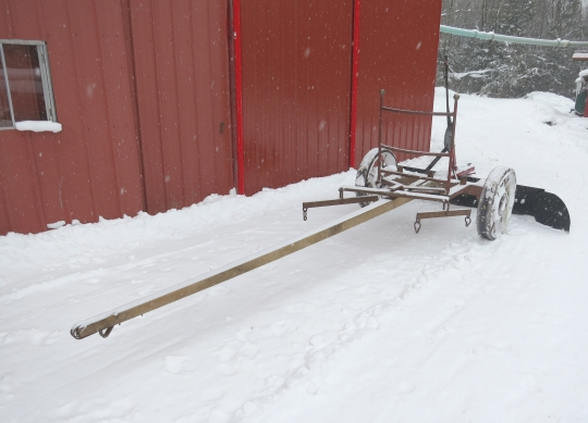 Amish Snow Scraper