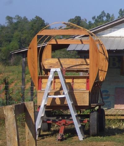 Amish Tarp Covered Wagon