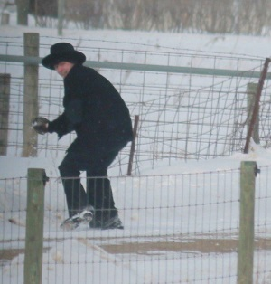 amish-teen-throwing-snowball