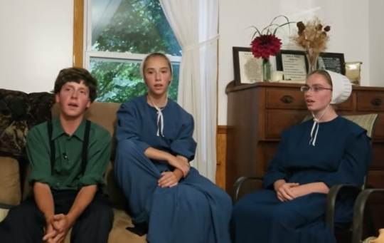 "Three Amish Teens Sing ""The Whippoorwill Song"" (I Give You Freedom)"