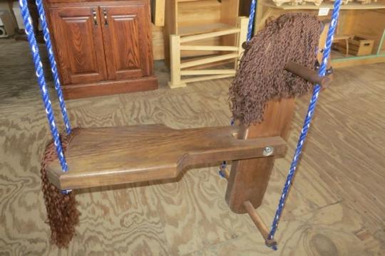 Amish Toy Horse Swing