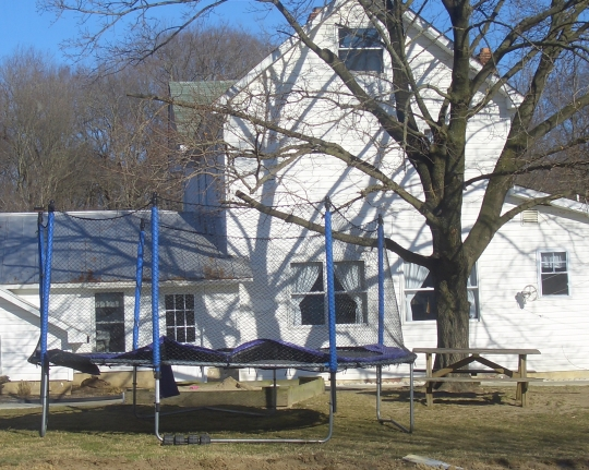 amish trampoline