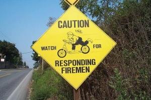Amish Volunteer Fire Crew