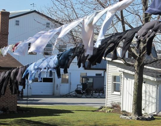 Amish Wash Line Lancaster