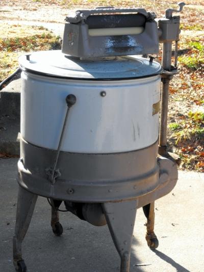 Amish Wash Machine