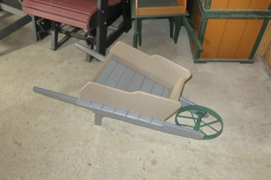 Amish Wheelbarrow Planter