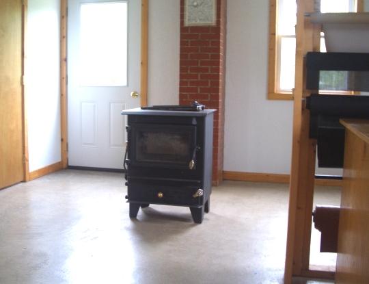 amish wood stove