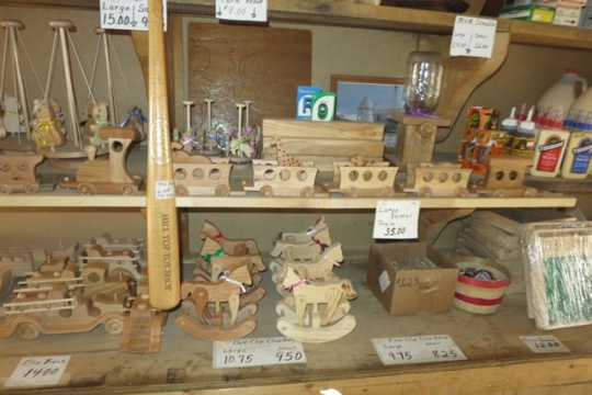 Amish Wooden Toys