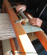 amish workshops weaver