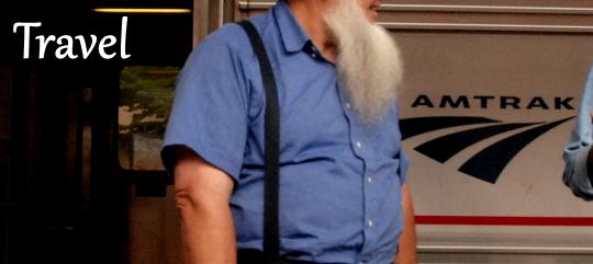 Amtrak Train Passenger