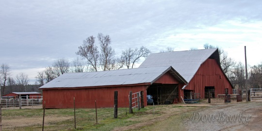 Arkansas Extinct Amish Settlement Barn