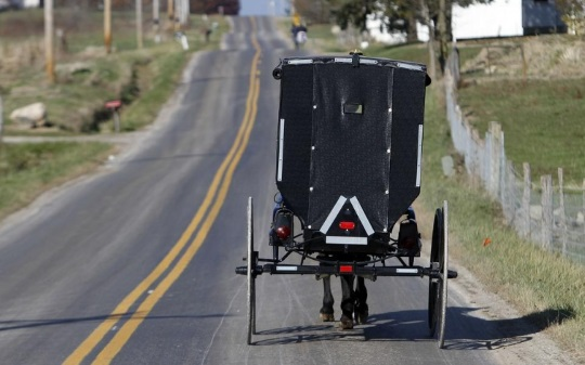 Amish Group Known For Unusual Safety Triangles Expected To Add New Safety Enhancement