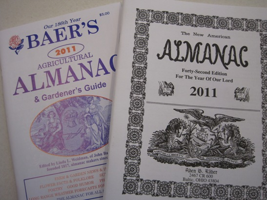 baers agricultural almanac