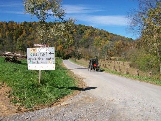 Bake Sale Virginia Amish