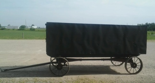 Bench Wagon Adams County Indiana Amish