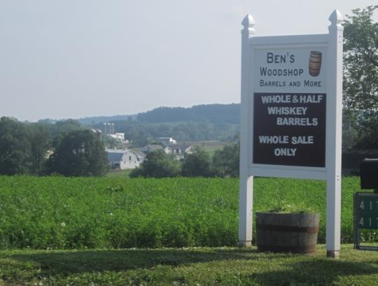 Bens Woodshop Barrels