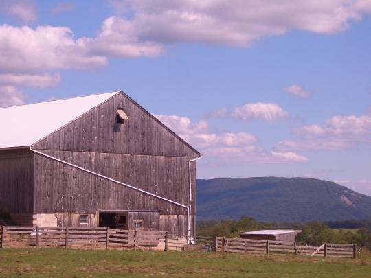 big valley amish barn