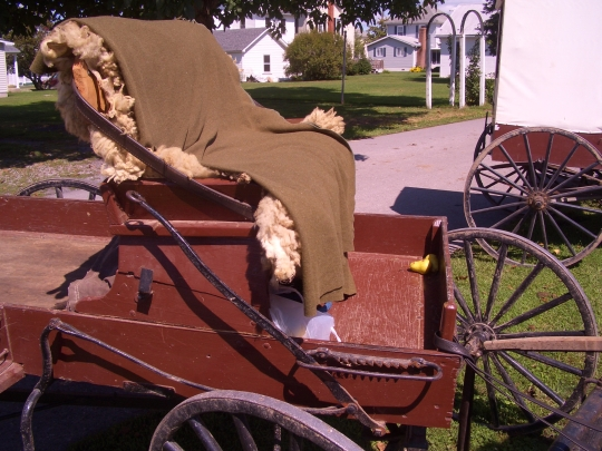 big valley auction amish carriage seat