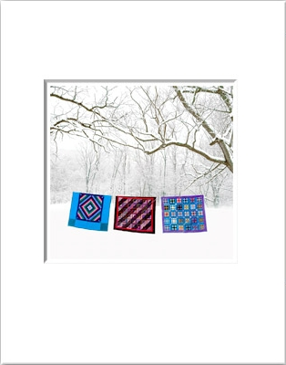 "Bill Coleman ""Three Quilts"" photo giveaway"