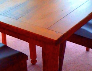 california amish furniture table