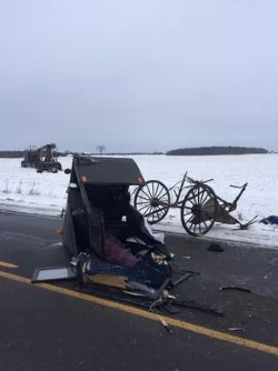 Should Amish Buggies Have Car Safety Features Like Seat