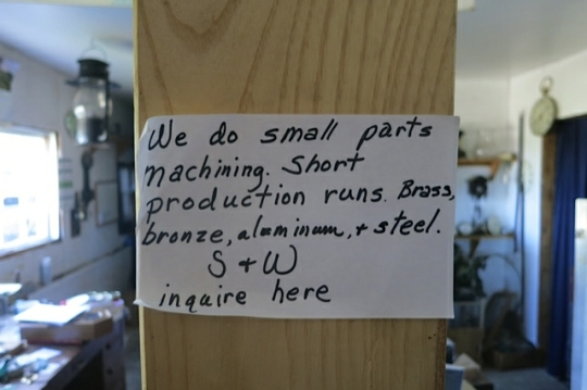 Clock Repair Notice