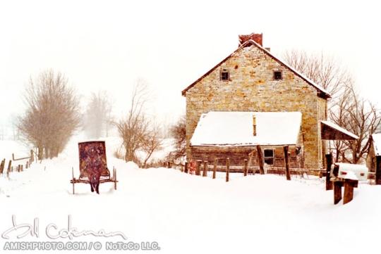 coleman-amish-snow-ride
