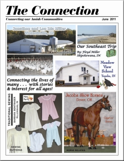 Nancy Amor, Mary Alice Yoder, and Doretta Yoder on The Connection Amish magazine