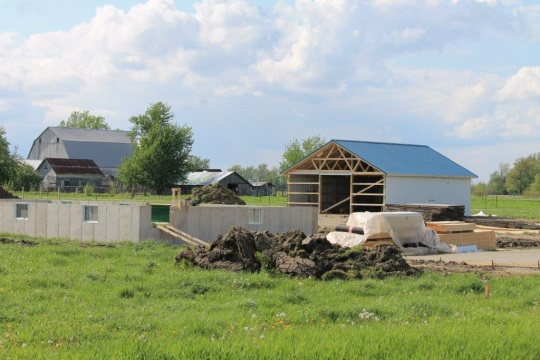 Construction Site Amish Indiana