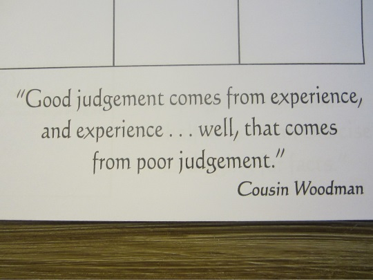 cousin-woodman-quote