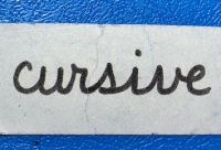 Cursive Teaching