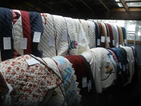 Danville Amish Auction Quilts