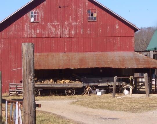 dover amish barn