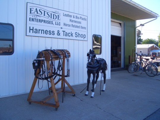 eastside amish harness topeka indiana