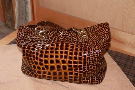 Exotic Leather Purse