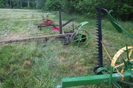 Farm Equipment Amish Auction
