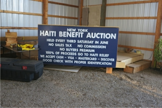 Haiti Benefit Sale New York