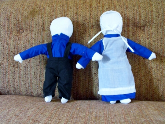 Handmade Amish Dolls