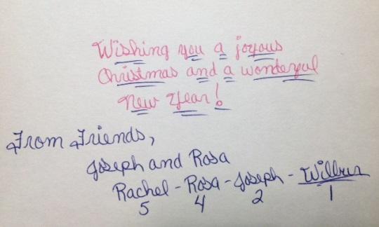 Handwritten Wishes