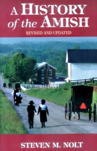 History of the Amish Steven Nolt Book