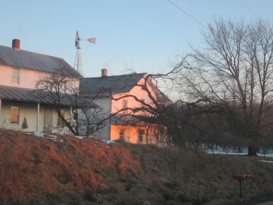 Holmes Co Amish Farm Dusk