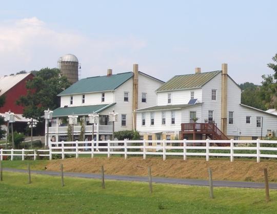 holmes ohio amish farm