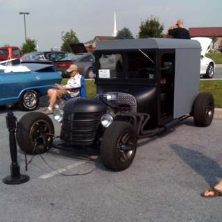 hot rod amish buggy