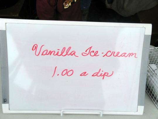 Ice Cream One Dollar